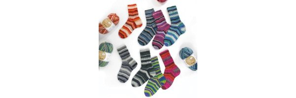 Flotte Socke Aurelia 4-fach