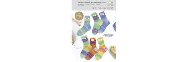Flotte Socke - Baumwolle+Wolle Strech
