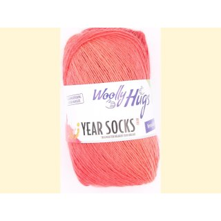 WoollyHugs Year Socks Oktober 10