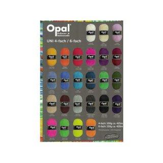 Opal Uni 100gr 4-fach