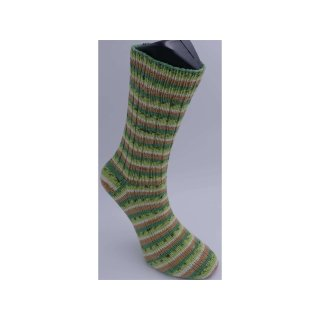 Handgestrickte Socken TuttiFrutti Gr 46/47 Baumwolle