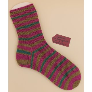 Handgestrickte Socken Candy Gr. 38/39