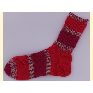 Handgestrickte Socken LeMans Gr.32/33