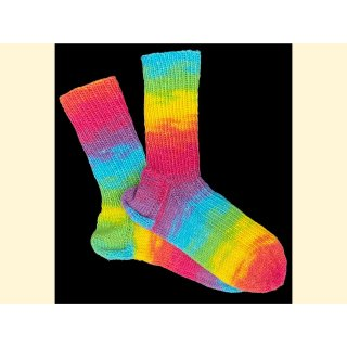 Surprise - handgestrickte Socken - Gr 32/33