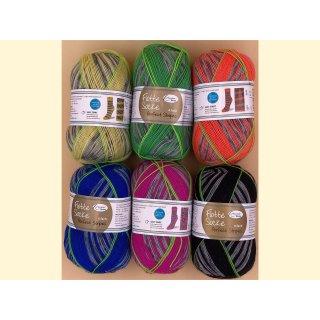Flotte Socke Perfect Stripes 4-fach