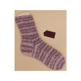 Handgestrickte Socken Premium Gr 34/35  mit Seide