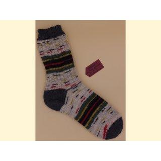 Handgestrickte Socken LE POINT Gr. 44/45