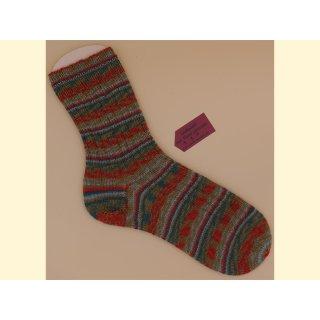 Handgestrickte Socken Makrone Gr. 46/47