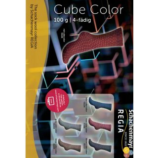 Sockenwolle Regia Cube Color 100gr
