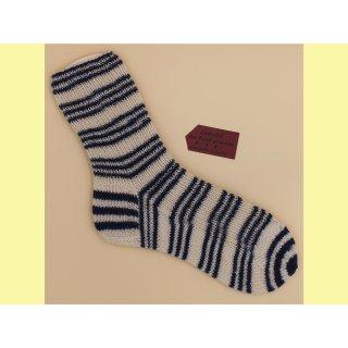 Socken handgestrickt Nautic Gr. 40/41