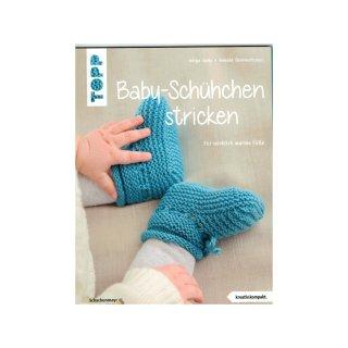 TOPP - Baby-Schühchen stricken von Helga Spitz