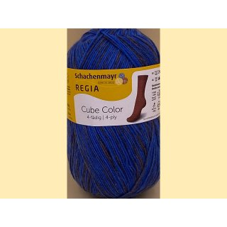 Sockenwolle Regia Cube Color 100gr 01154
