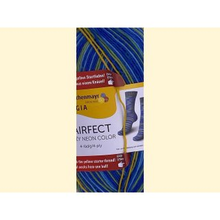 Regia paifect 4-fädig 7145 crazy blue color