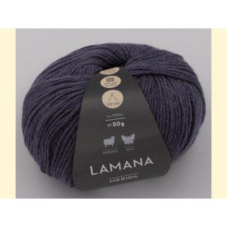 Lamana Merida 50gr Merino / Seide 61 lavendel