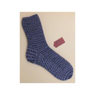 Handgestrickte Socken Cube in Größe 44/45 für Herren